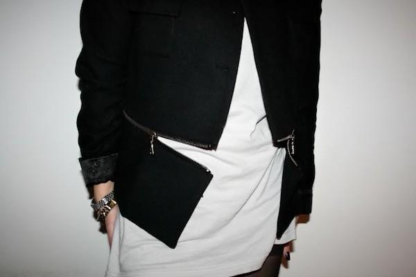 love aesthetics zipper jacket DIY