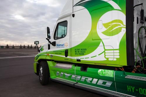 Walmart Hybrid Assist Truck