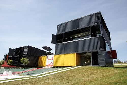 Casas con Contenedores Reciclados