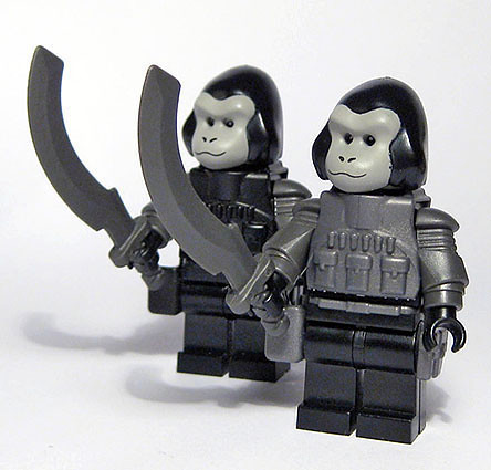 Custom minifig Space apes custom minifigs