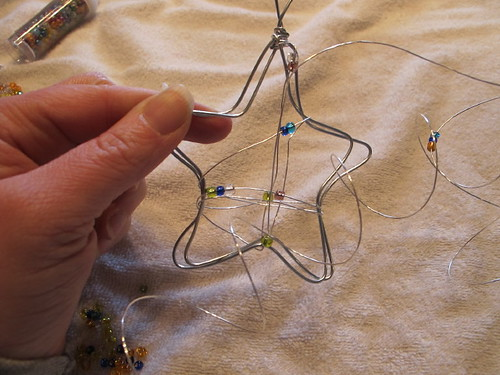 DIY star ornament #10