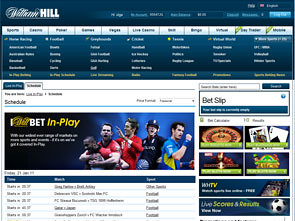 William Hill Sportsbook Home
