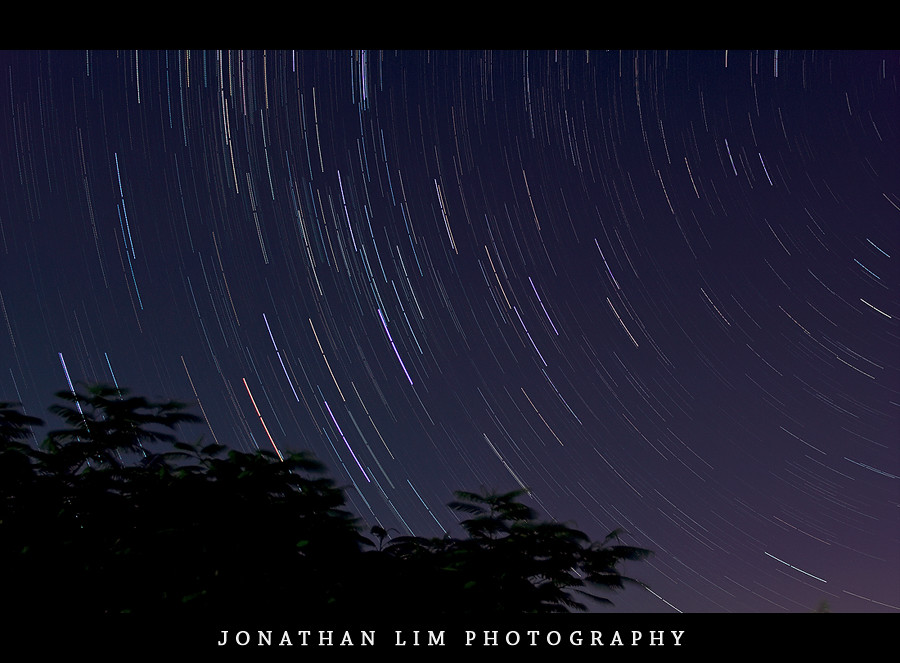 Star trails - First Attempt