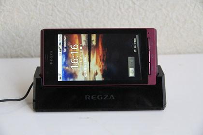 REGZA phone 防水 機能
