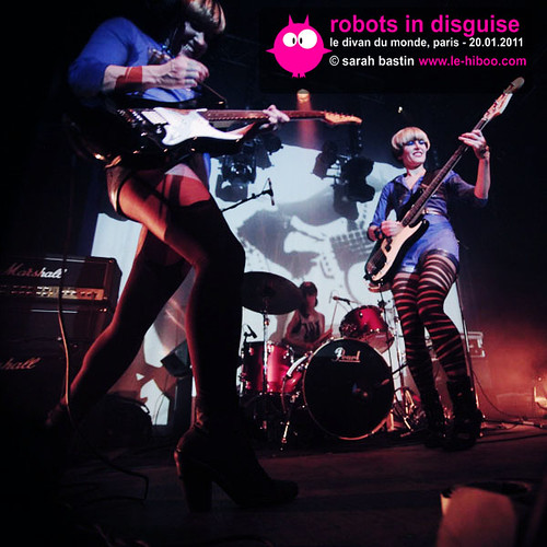 Robots In Disguise en concert