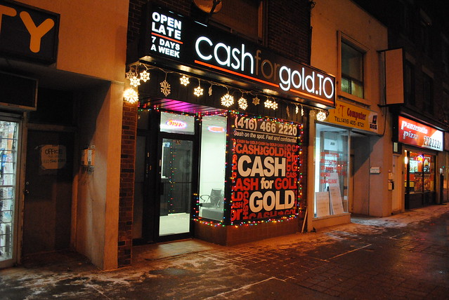 CashforgoldTO  Danforth location The night before Christmas 2 by cash-for-gold-toronto