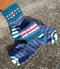 A sock inside