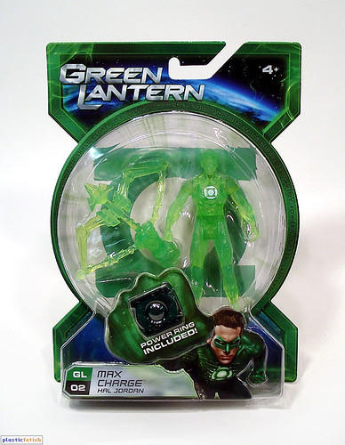 Green Lantern - Max Charge