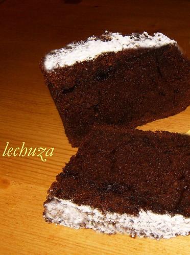Cake de moras y choco-detalle