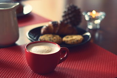 Sunday morning (Shahrazad_84) Tags: breakfast cappuccino cup everyday autumn cosy home homesweethome cookies 50mm sunday october lazy morning