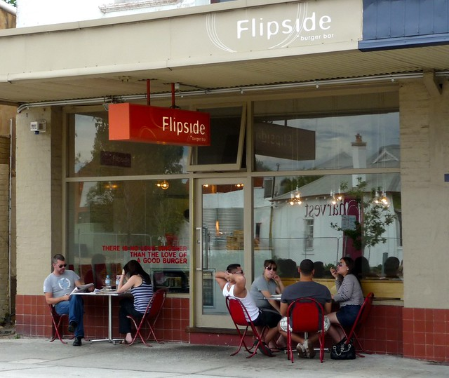 Flip Side Gourmet Burger