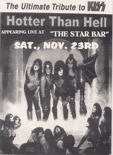 11/23/02 Hotter Than Hell (Kiss Tribute Band) @ Mpls (Flyer 1)