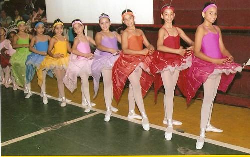 Borboletas bailarinas