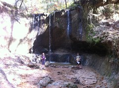 Girls at 1st Waterfall