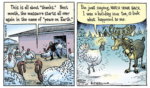 Bizarro - Thanksgiving-Christmas