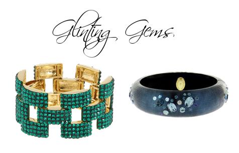 glinting gems
