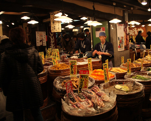 "5208731316 77c5364bef Japanese Street Market ""Nishiki ichiba"" places all post  homepost featured"