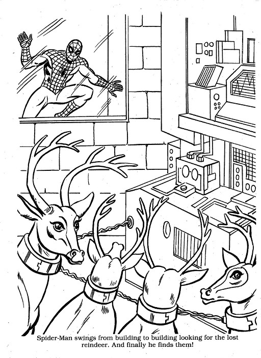 marvel christmas coloring00035