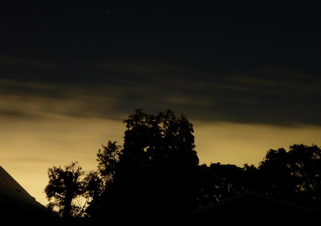 Illuminated Night Sky & Polaris