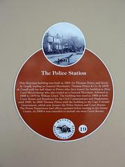 Photo of Orange plaque number 4876