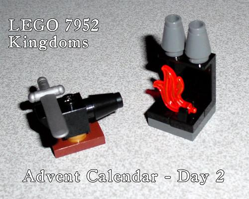 LEGO 7952 Kingdoms Advent Calendar - Day 2