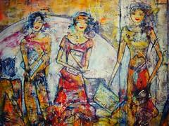 Parte da Tela 'Momento Mgico' de Lcia Hinz (paulinhagpj) Tags: cores momentomgico bibliotecanacionaldebraslia lciahinz