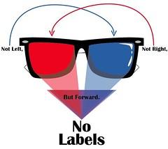 No Labels Visionary Logo