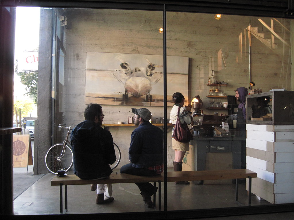 either the sightglass is half full
