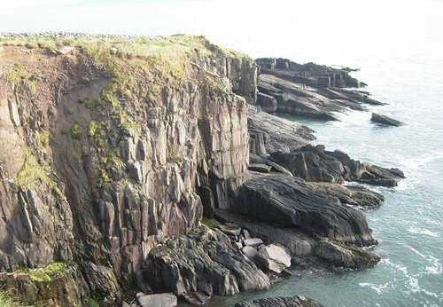 Cliffs at Ft. Dunbeg, Ireland