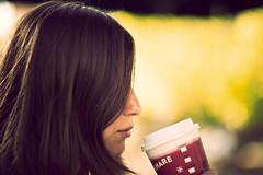 Bokehlicious! (J. Wiegand) Tags: portrait hot coffee café girl canon golf chica dof bokeh chocolate retrato 85mm dani el starbucks 5d 18 85 8518 jorgewiegand