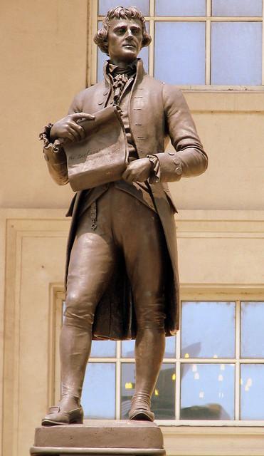 Louisville's Thomas Jefferson Statue