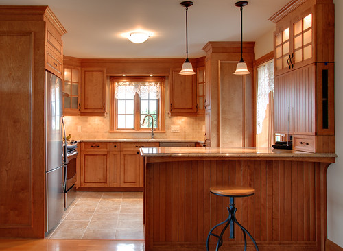 White Birch kitchen