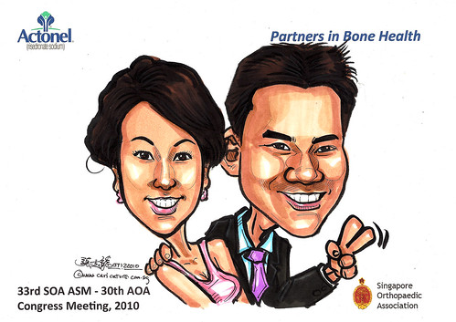 Caricatures for Sanofi-Aventis - 39
