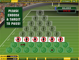 free $5 Million Touchdown slot bonus game