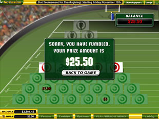 free $5 Million Touchdown slot bonus prize