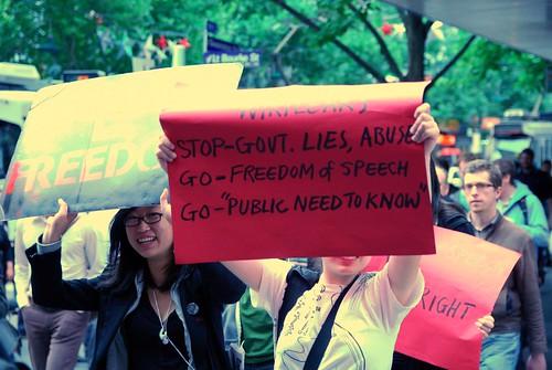Wikileaks stop govt lies, abuse