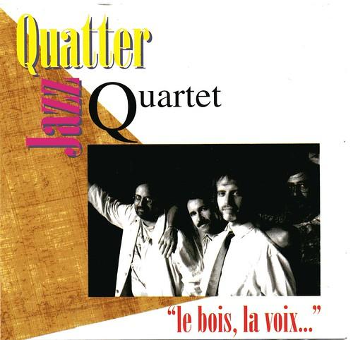 jazz quatter quartet - le bois, la voix