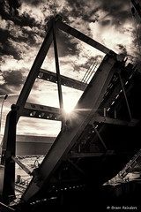 The bridge (Bram Reinders) Tags: holland nederland thenetherlands groningen hdr thebridge farmsum debrug tamronaf18250mmf3563diiildasphericalifmacro tamron18250mm tamron18250 sonyalpha700 bramreinders wwwbramreindersnl nieuwsgierigheidisdebronvanallekennis curiosityisthesourceofallknowledge bramreindersfarmsum sealocksfarmsum zeesluizenfarmsum