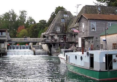 A dam in Fishtown