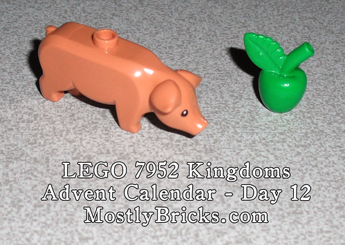 LEGO 7952 Kingdoms Advent Calendar – Day 12
