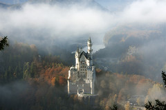 Neuschwanstein in mist: http:www.fischerfotografie.nl (fischerfotografie.nl) Tags: world old trip travel vacation holiday alps building castle heritage castles tourism monument architecture fairytale buildings germany wonder deutschland bavaria asia europe day tour natural south sightseeing visit location tourist unesco destination historical sight colourful traveling alpen neuschwanstein schloss fortress touring forts attraction duitsland illuminate fortresses kasteel monumental smrgsbord worldwonder burch strongholds burgenschlsser mrchenschloss ludwich sprookjesachtig knigsschlsser schlsserburgen schloddiewatt kning kremlins
