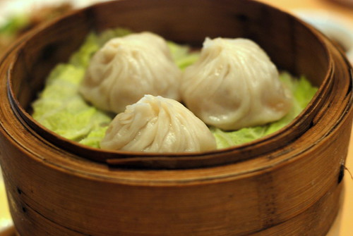 Steamed 'Xiao Loong Bao'