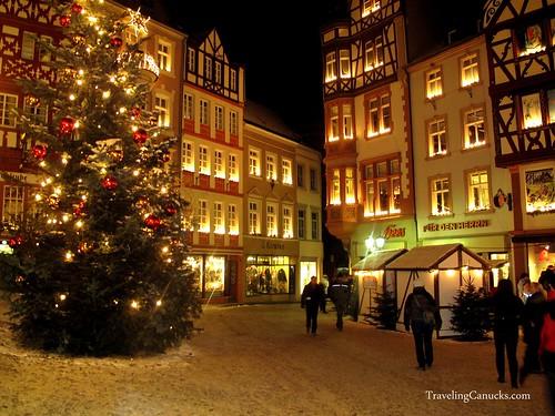 Christmas in Bernkastel, Germany