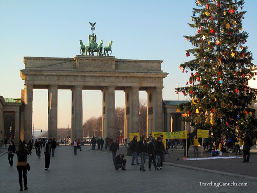 Christmas at the Brandenburg Gate - Berlin, Germany