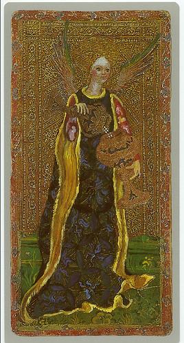 012-La templanza -Cary-Yale Visconti Tarot Deck
