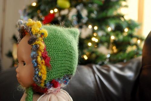 tiny pixie hat