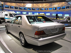 1995 Mercedes-Benz S600 (US) (InSapphoWeTrust) Tags: california germany deutschland stuttgart mercedesbenz 2009 arnoldschwarzenegger badenwürttemberg w140 mercedesbenzmuseum