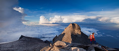 On Top Of The World (jeffiebrown) Tags: sunrise mountainclimbing borneo mountkinabalu sabah lightroom headhunters triplem doublem hitechfilters