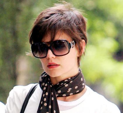 Katie Holmes seen on the streets of Manhattan on August 5, 2008