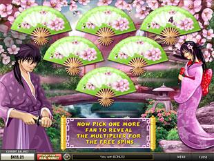 free Geisha Story gamble bonus multiplier